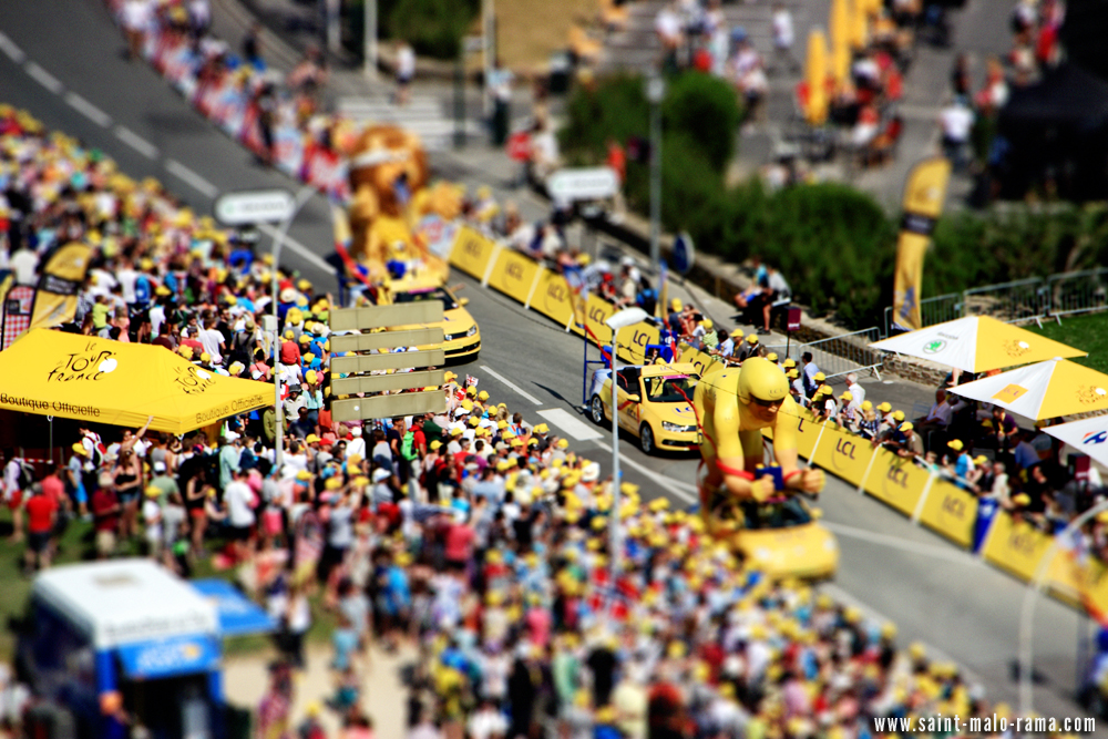 Caravane tour de france miniature