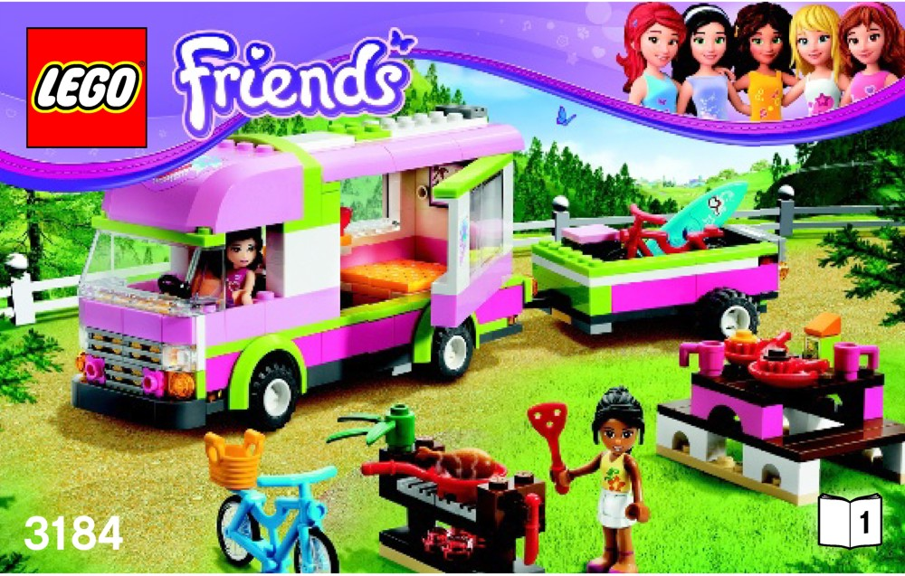 Caravane lego friends