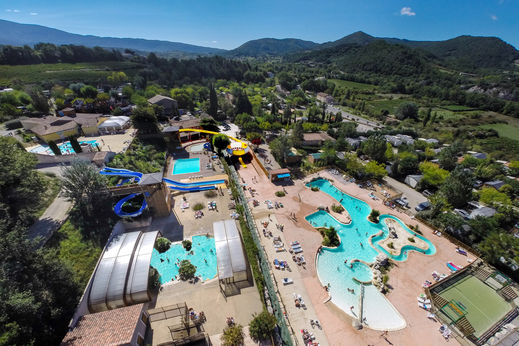 Camping provence camping a la ferme