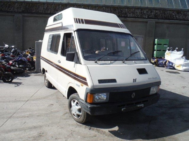 Renault trafic camping car occasion