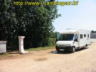 Camping car lons le saunier