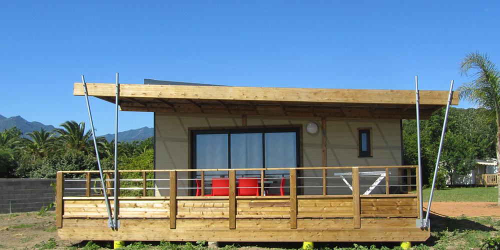 Camping corse chalet