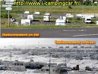 Aire camping car super besse