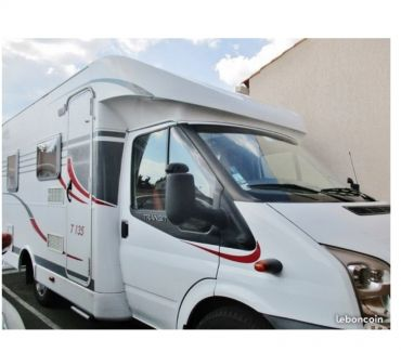 Camping car occasion triaize