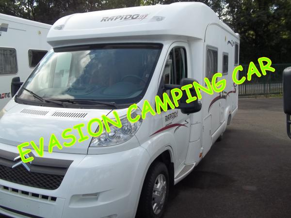 Camping car vendee occasion