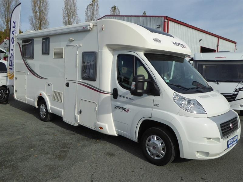 Occasion camping car profilé lit central