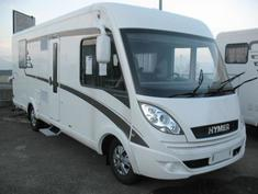 Camping car integral hymer