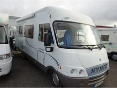 Camping car occasion hymer b544
