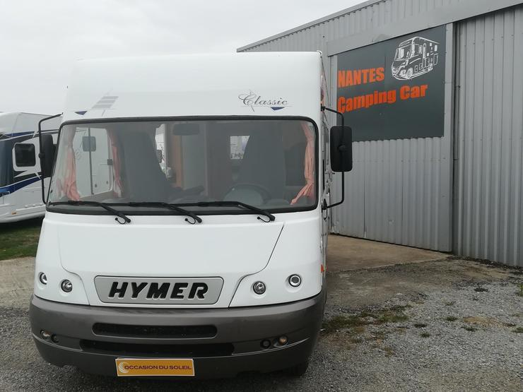 Camping car occasion integral hymer