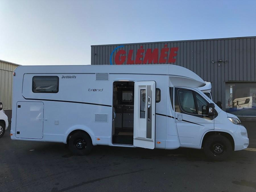 Glemee camping car occasion
