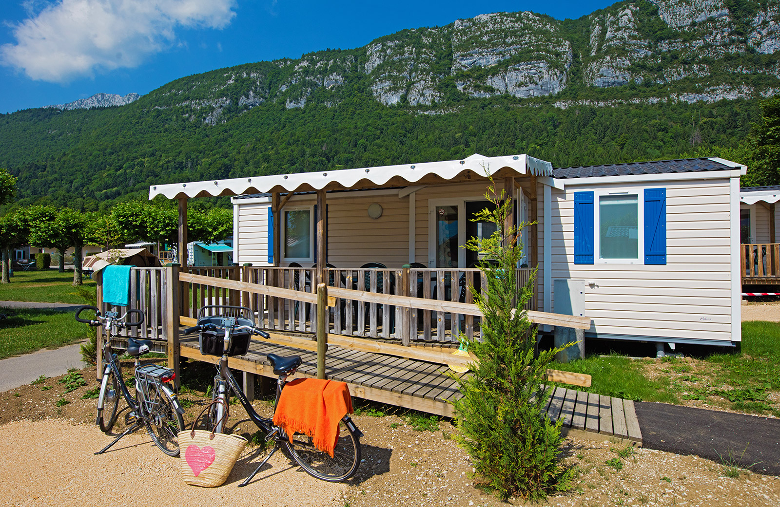 Location mobilhome lac annecy
