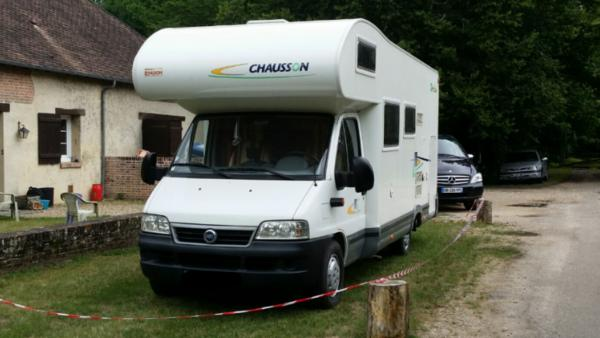 Camping car bourges
