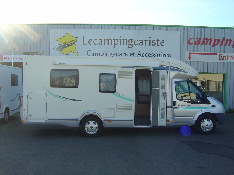 Camping car chausson flash 4 occasion