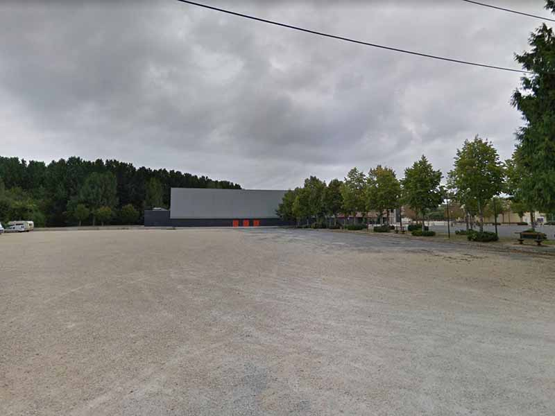 Aire camping car bourges