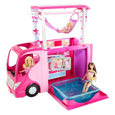 Camping car de barbie