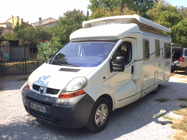 Camping car occasion renault trafic