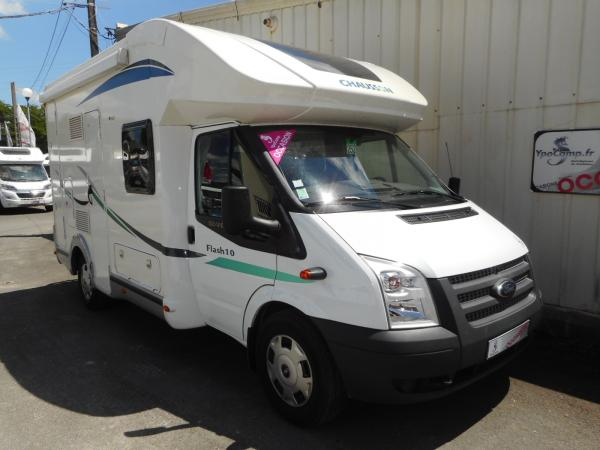 Camping car occasion chausson flash 10
