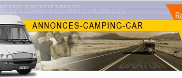 Annonces camping car occasion