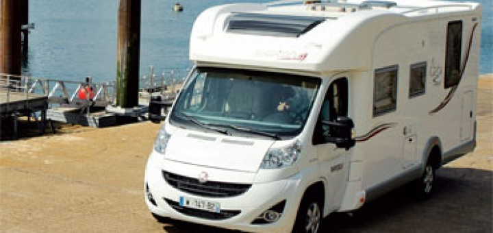 Camping car hymer profilé occasion