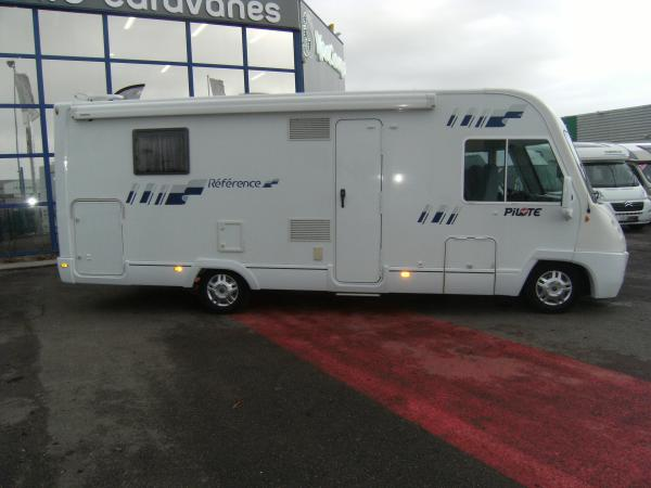 Camping car pilote reference g 740 occasion