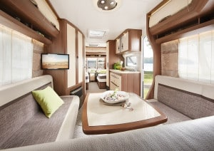Caravane interieur simple
