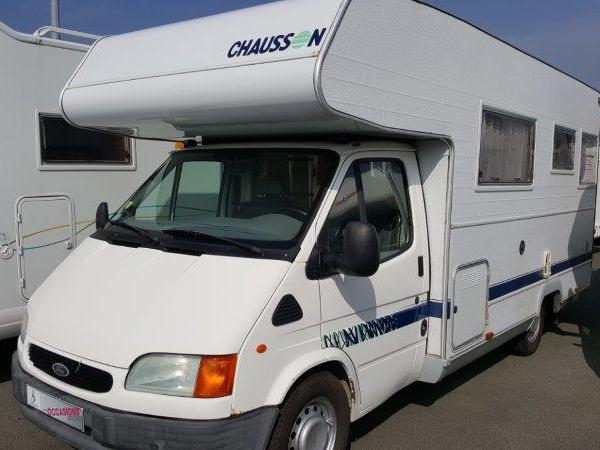 Camping car chausson occasion 6 places