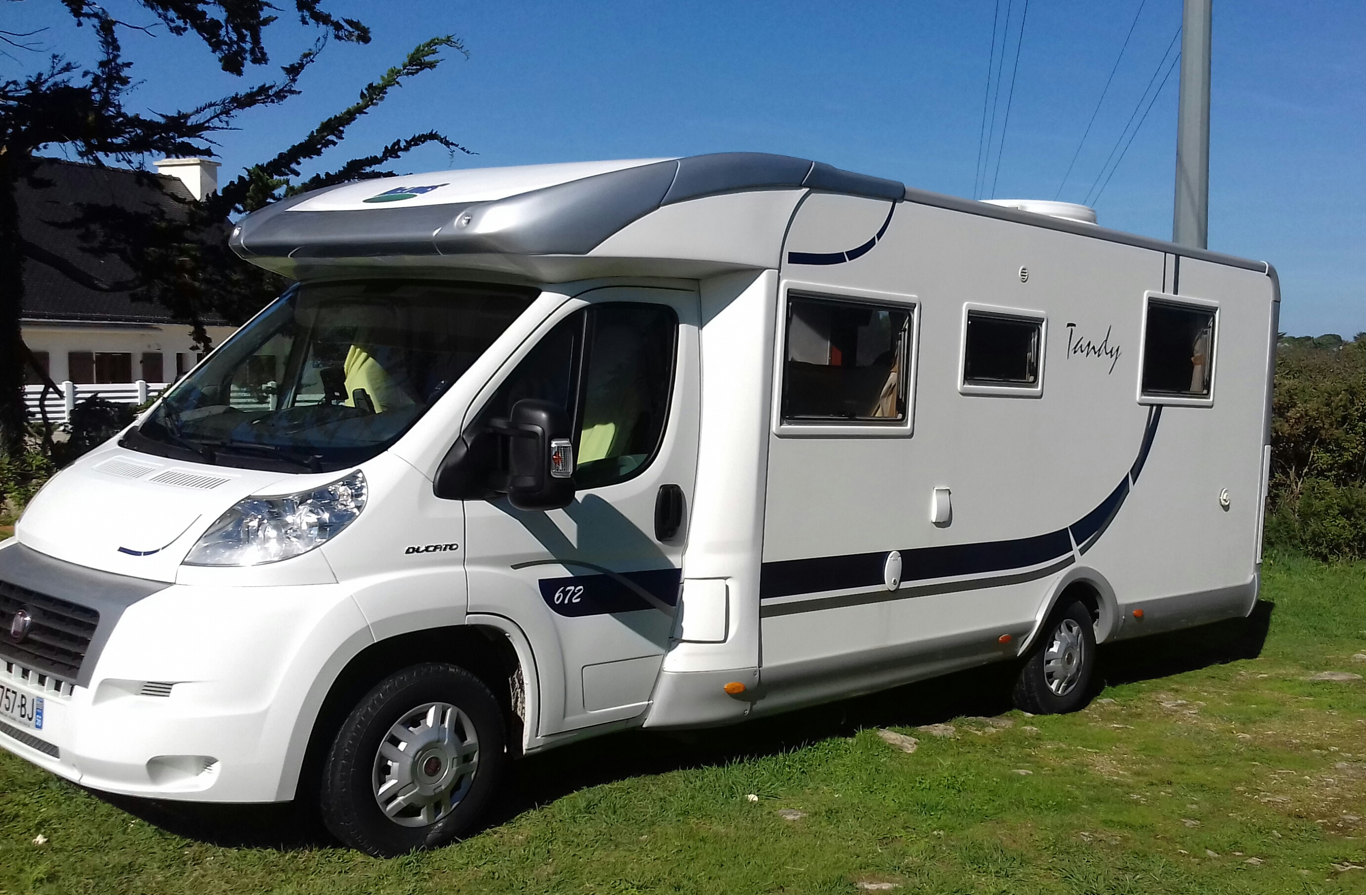 Camping car occasion mc louis tandy 672