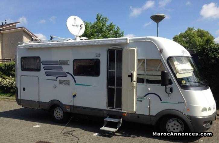 Camping car hymer b 644 occasion