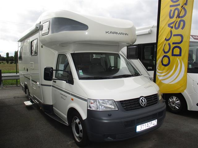 Camping car vw t5 occasion