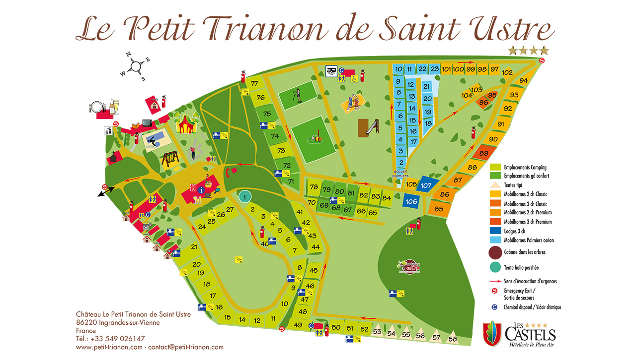 Camping trianon camping vieux port