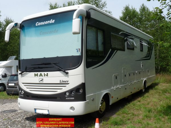 Poid lourd amenage camping car occasion