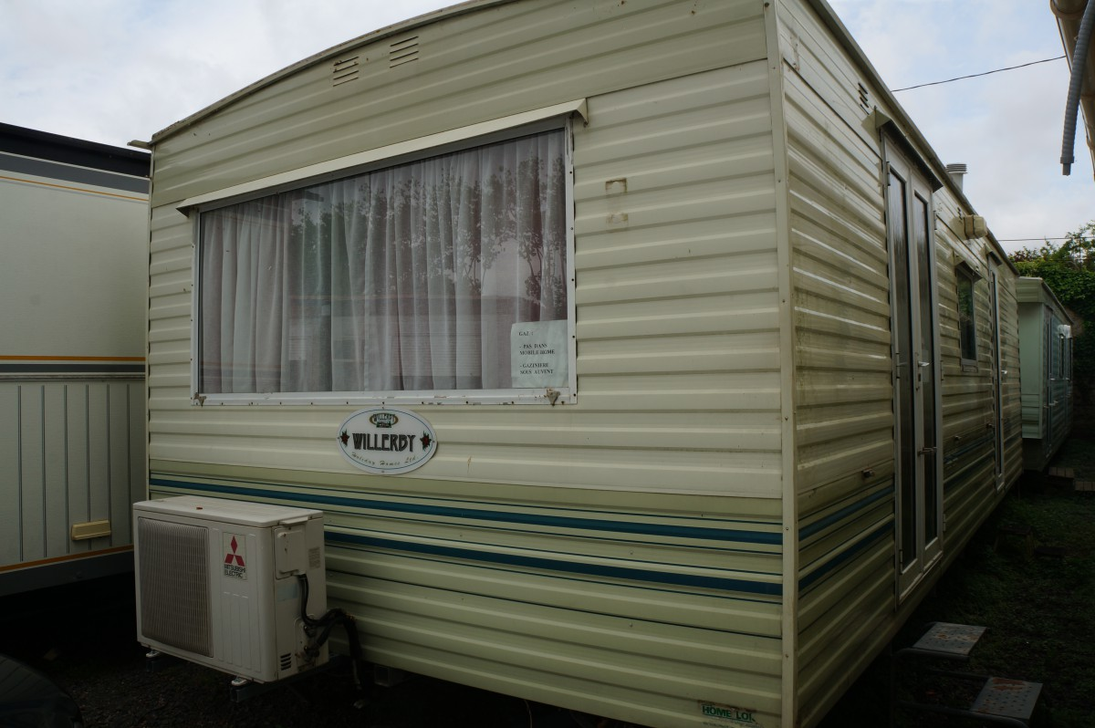Mobilhome willerby 2 chambres