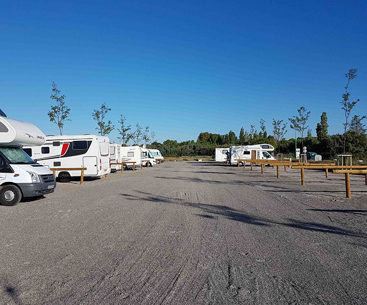Aire camping car montpellier