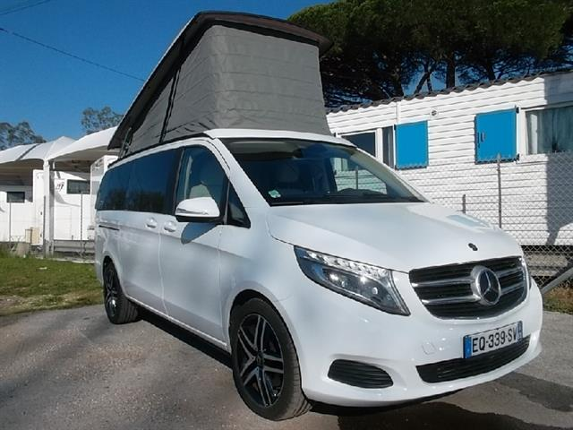 Mercedes viano amenage camping car occasion