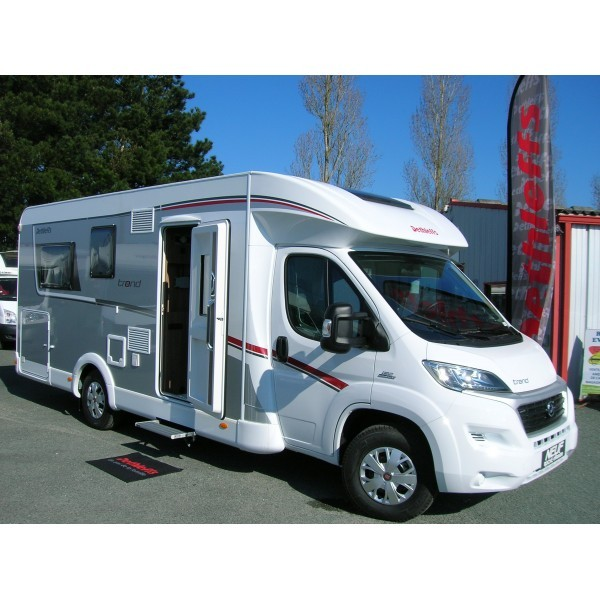 Occasion camping car pilote lit central