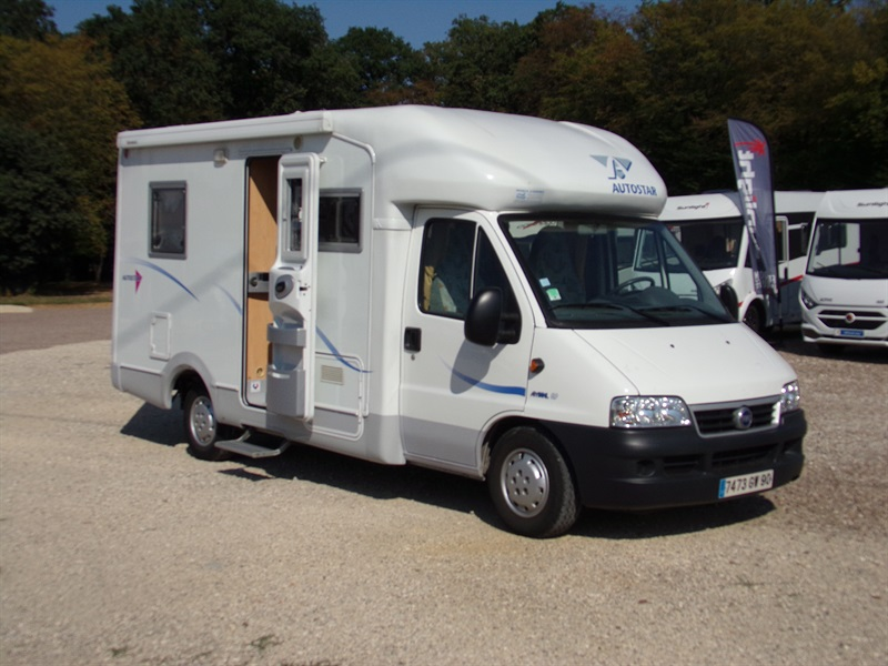 Camping car occasion francastel