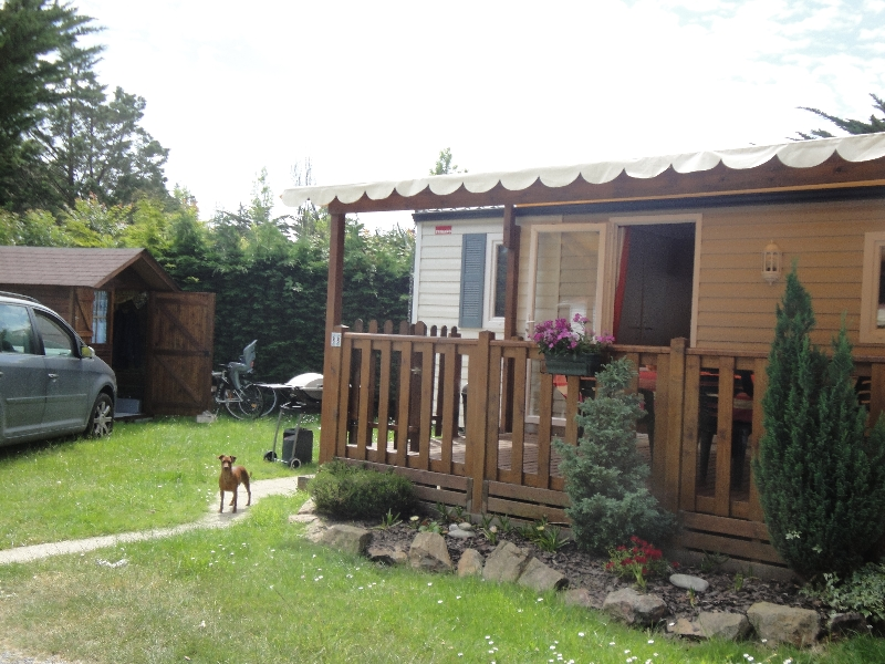 Mobilhome a vendre sur camping 44