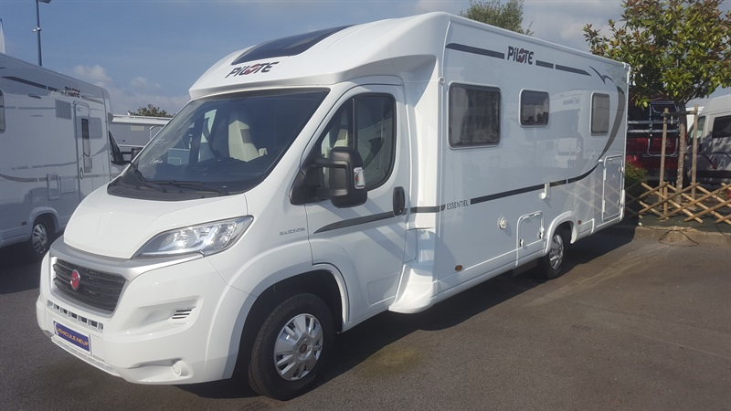 Camping car pilote p600 occasion