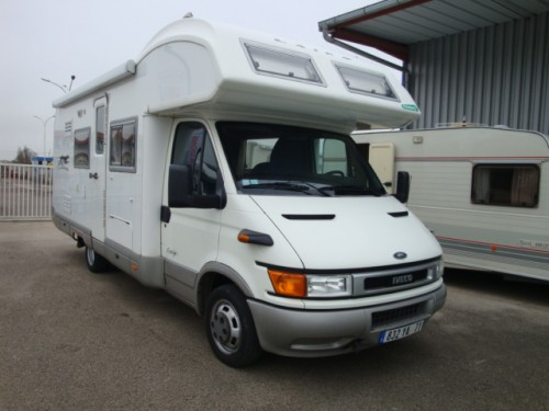 Iveco amenage camping car occasion