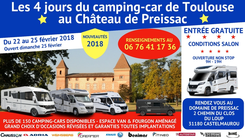 Salon camping car occasion toulouse