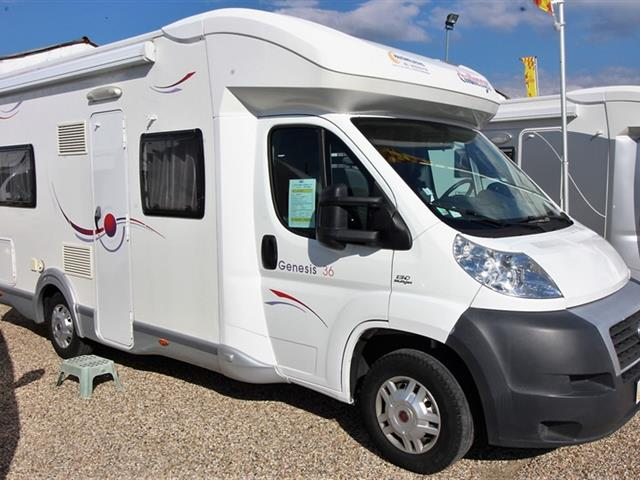 Camping car challenger genesis 36 occasion