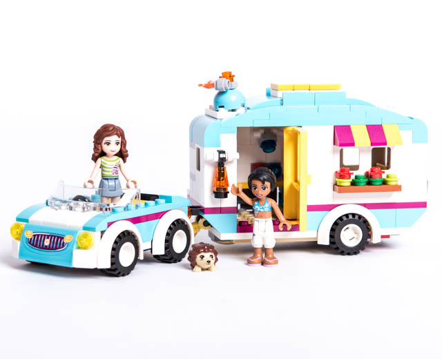 Lego friends caravane
