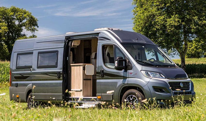 Camping car fourgon d'occasion