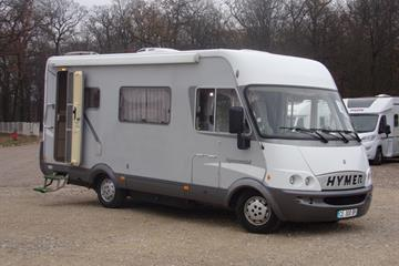 Camping car d occasion pas cher hymer 6 couchages