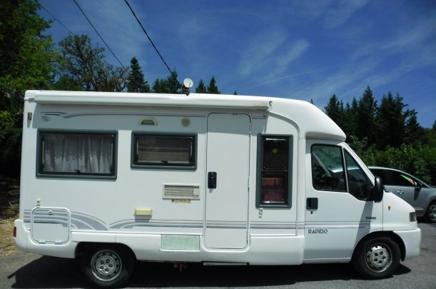 Camping car occasion idylcar