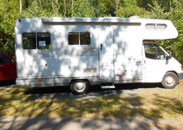 Camping car occasion 12000 euros
