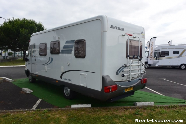 Camping car hymer bc 655 occasion