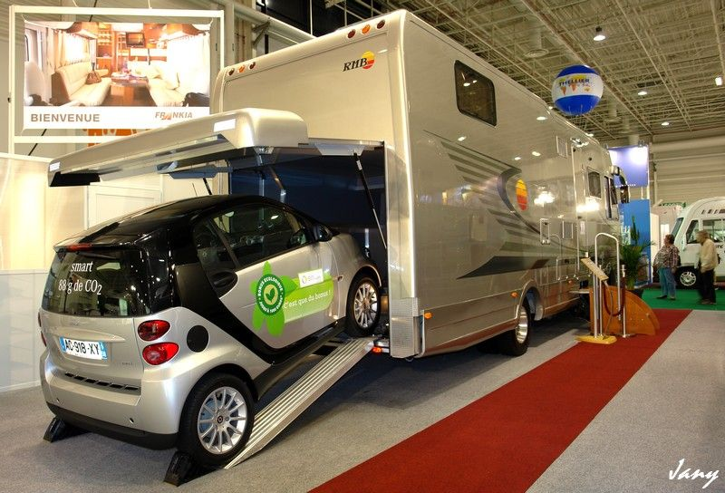 Camping car avec voiture camping car fiat