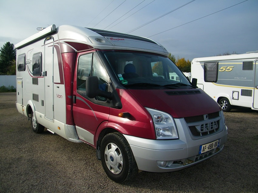 Camping car occasion hymer profile