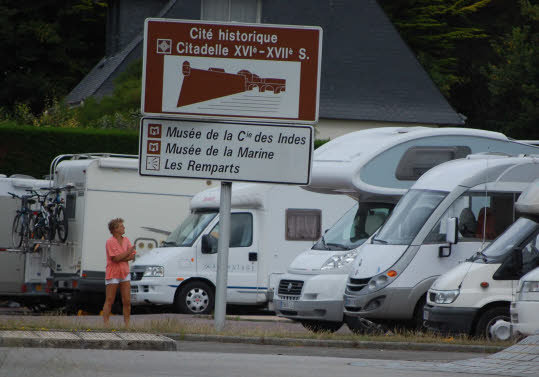 Aire camping car port louis